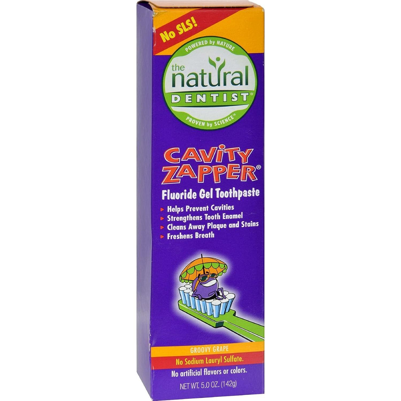 Natural Dentist Kids Cavity Zapper Toothpaste Buster Groovy Grape - 5 oz U-Nutra