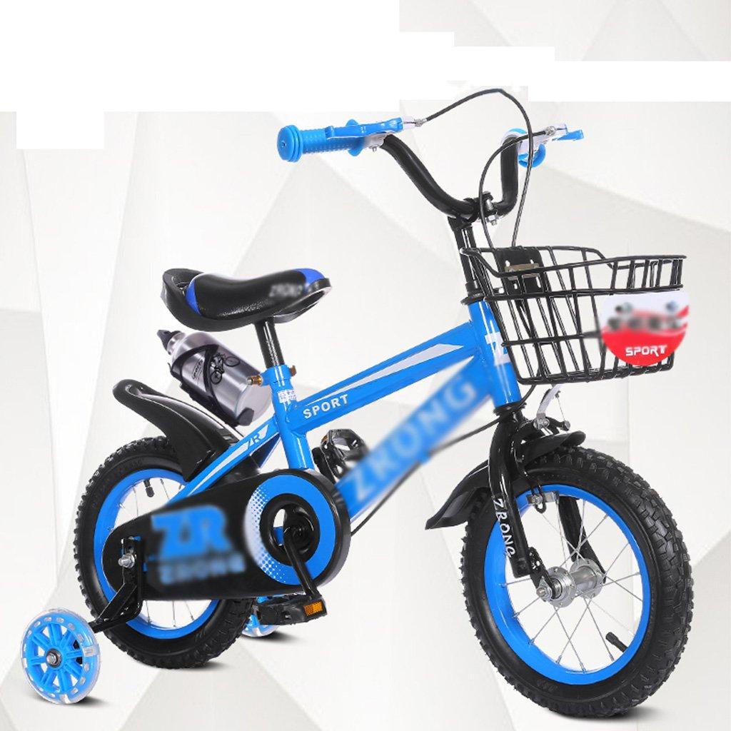 【超歓迎】 Gai Huaホーム子供用自転車子供の自転車2 – 10年古いバイク80 inches – – 108 cm高さ児童ベビーCarriageサイレントフラッシュラウンド Gai 14 inches ブルー B07DQMFH3X, 焼酎屋ドラゴン:031b1e78 --- arianechie.dominiotemporario.com