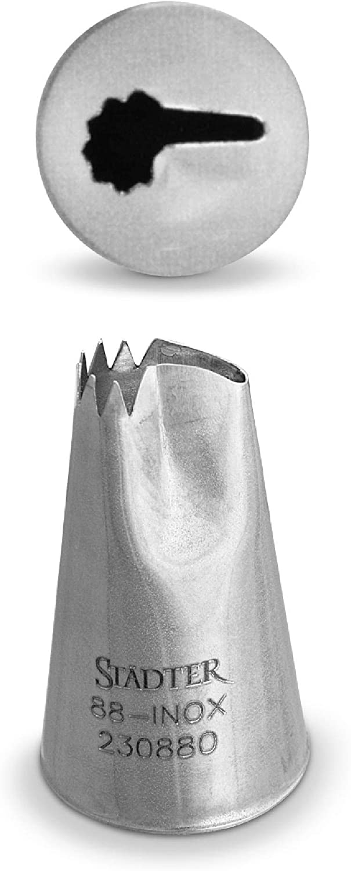 Edelstahl 30 x 1.4 x 30 cm St/ädter Locht/ülle Silber