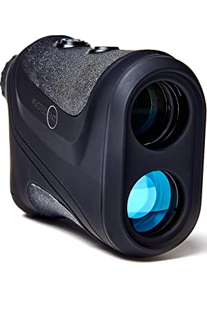 Golf Rangefinder – Laser Accuracy Precisely Measures Slope Compensation and Distance to the Pin for Better Club and Shot Selection One Second Results, One Foot Accuracy Easy to Read LED Screen