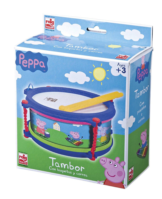 REIG 2340 Tambour - Peppa Pig Claudio Reig