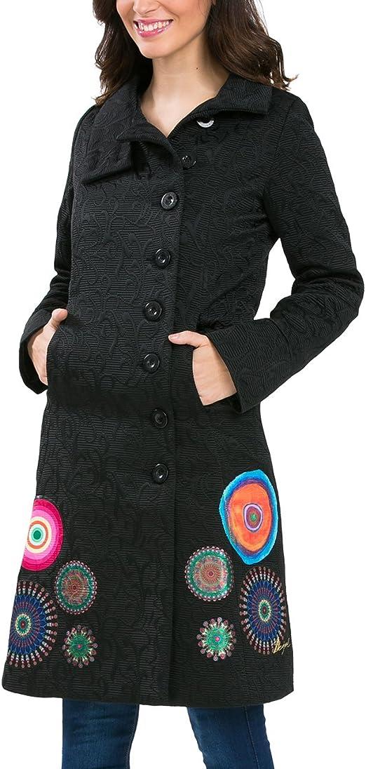 Desigual manteau 57E20A7 YAILA noir femme   Des marques et vous