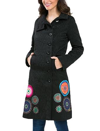 Manteau long jean noir