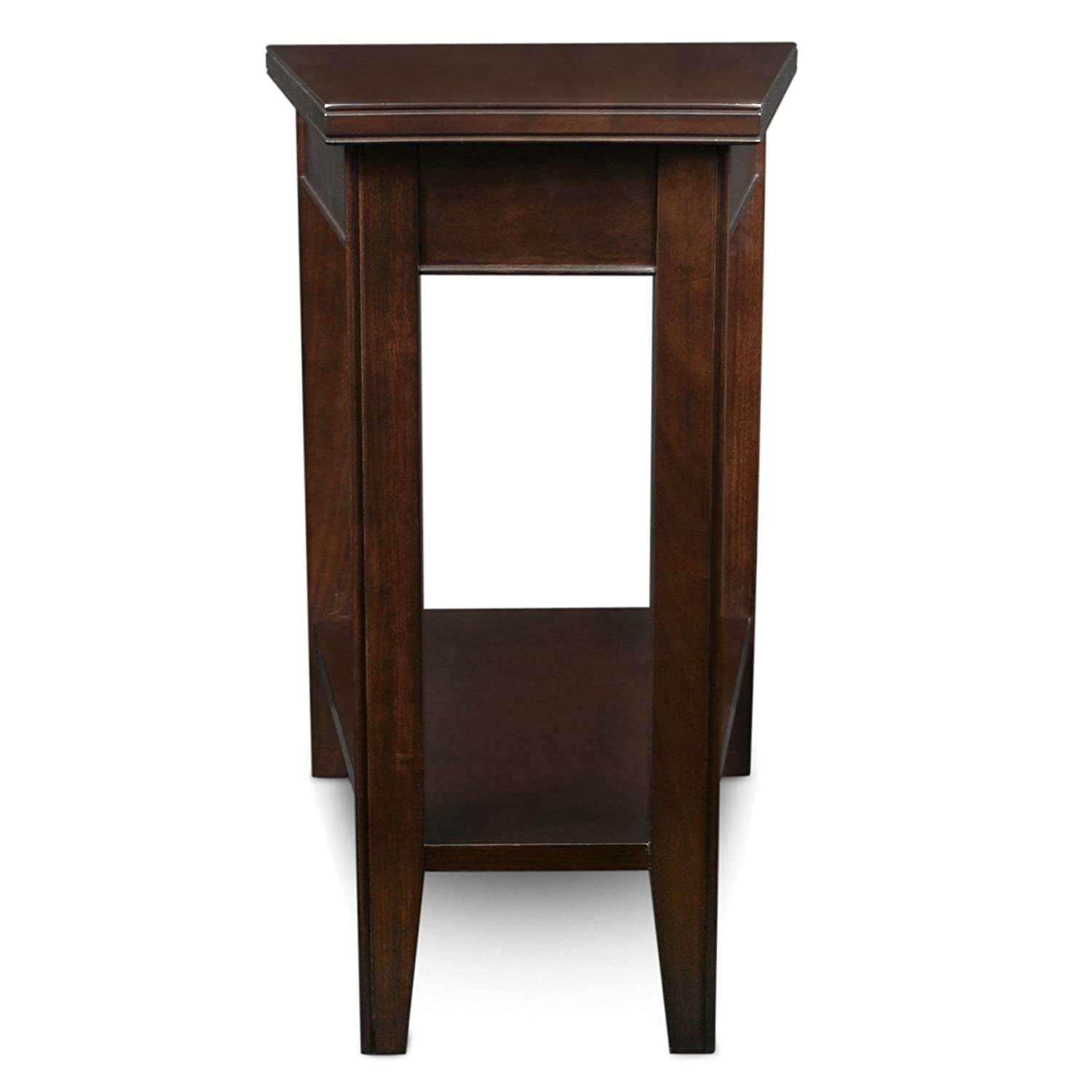Amazon Com Leick Laurent Recliner Wedge End Table Kitchen Dining