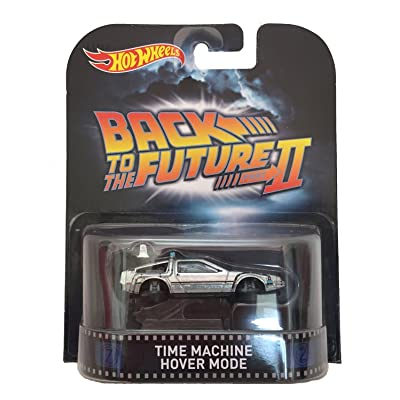 "Time Machine Hover Mode ""Back To The Future Part II"" Hot Wheels 2015 Retro Series 1/64 Die Cast Vehicle: Toys & Games"