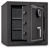 Mesa 3.3 Cu Ft All Steel Burglary & Fire Safe With Electronic Lock (Hammered Grey)
