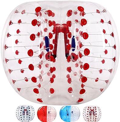 Bola de burbuja del balón inflable del cuerpo Bolas de fútbol de ...