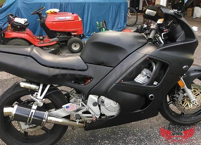 VITCIK Kit Completo de Tornillos y Pernos de Carenado para Ninja 650R ER-6F ER6F 2006 2007 2008 06 07 08 Clips de Sujeción en Aluminio CNC de La ...