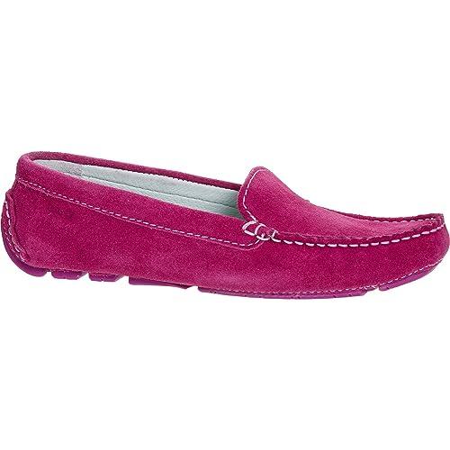 Fucsia Mocasines para mujer Gant ante traje de neopreno para mujer, color rosa, talla 36: Amazon.es: Zapatos y complementos