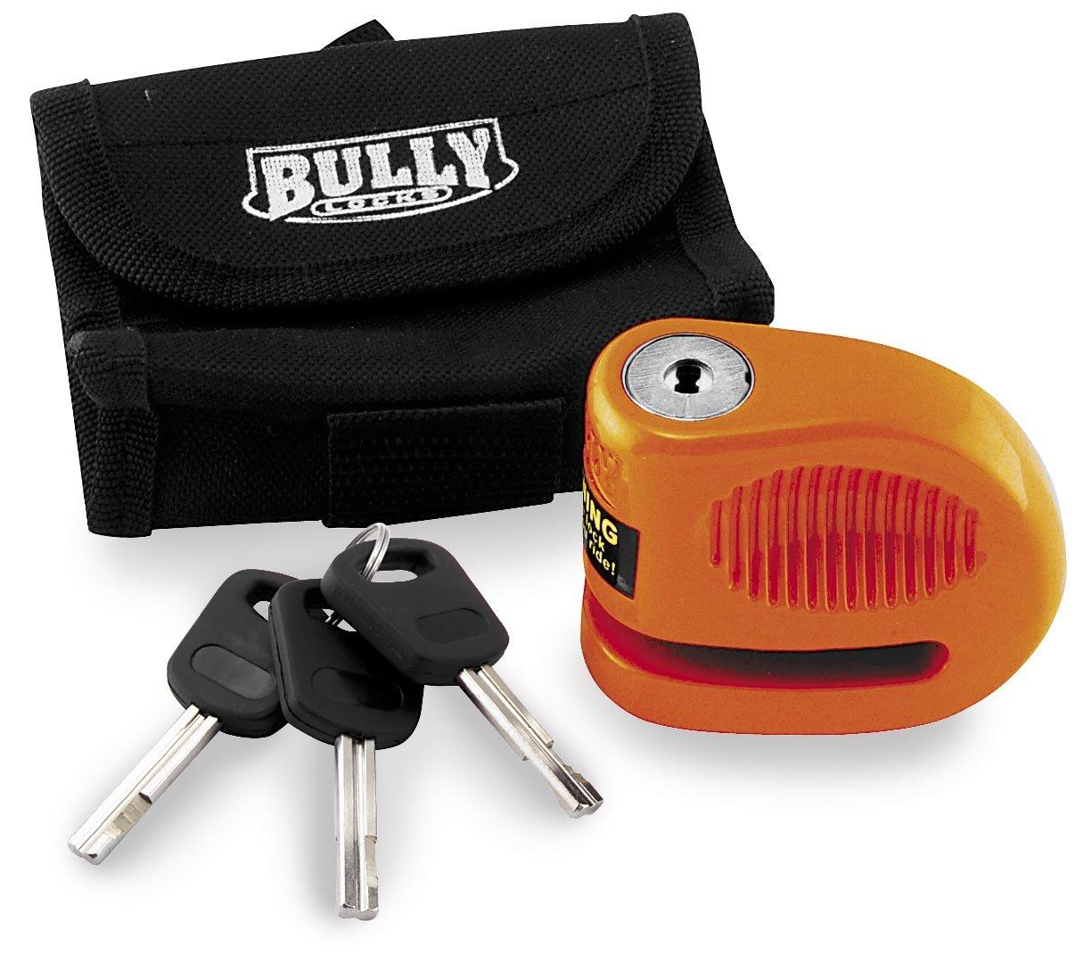 BULLY LOCKS 5.5MM LIL BULLY DISC LOCK STEEL ORANGE