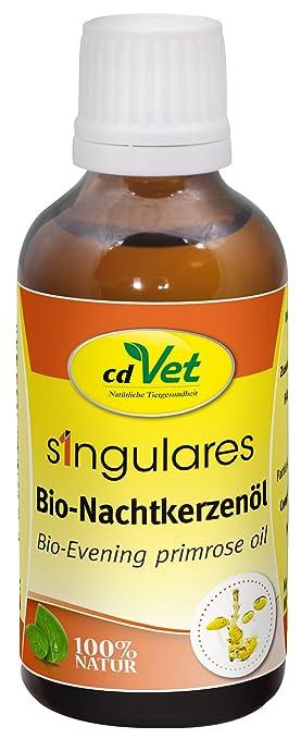 cdVet Productos naturales Singulares aceite de onagra orgánico DAB 50 ml: Amazon.es: Productos para mascotas