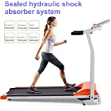 Folding Electric Treadmill Running Training Fitness Machine Equipment for Home Gym (US STOCK)
