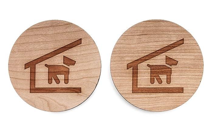 Caseta Gemelos, Gemelos de madera hecho a mano en los Estados Unidos: Amazon.es: Joyería