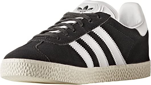 Adidas Gazelle Negras,Rojas,Azules,Rosas para Mujer. Zapatillas Deportivas, Sneaker,Tenis. (38.5 EU, Dark Grey HeatherFootwear White)