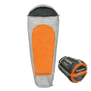 fridani mo175 K camping Saco de dormir de hasta 19 °C XL – Saco de