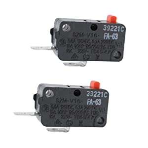 SZM-V16-FA-63 Micro Switch Compatible with LG GE Starion SZM-V16-FD-63 FA-63 Microwave Door Switchby ketofa (2)