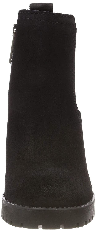 Hilfiger Denim Damen Schwarz Essential Mid Heel Chelsea Stiefel Schwarz Damen (schwarz 990) 78b473