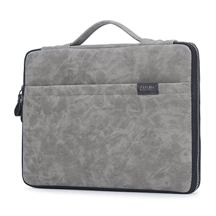 CAISON 12.3 inch Laptop Sleeve Case for 12.3 inch Microsoft Surface Pro 6 / MacBook 12/12.3 inch HP Envy x2 / 12 inch Samsung Galaxy Book/MacBook Air ...