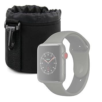 Duragadget Etui de Transport pour Montre connectée Apple iWatch 3ème série Nike+, Hermes 38 ou
