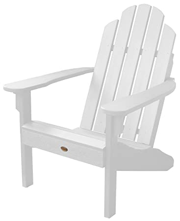Highwood Classic Westport Adirondack Chair, White