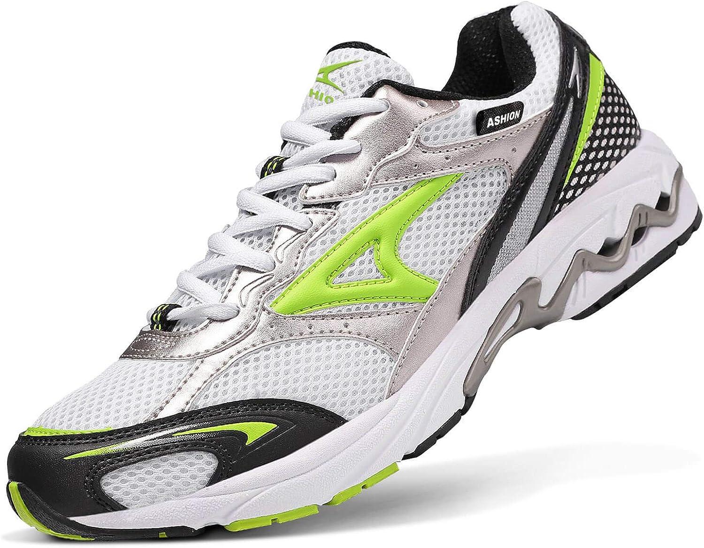 Zapatillas de Running Hombre Calzados para Correr en Asfalto Deporte Sport Casual Sneakers 39-45EU