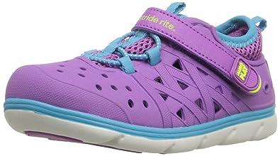 Stride Rite Made2Play Phibian Mädchen Sneakers / Sandalen / Wasser Schuhe-Pink-28 KHHXykA7