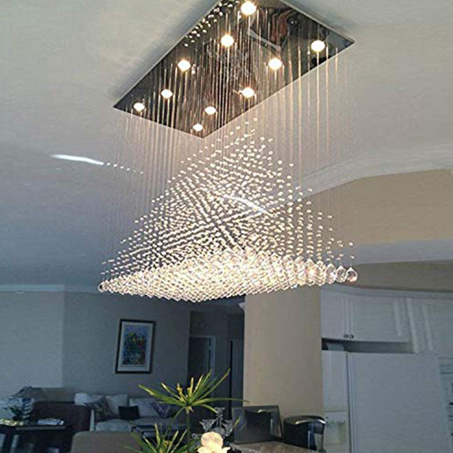 Crystal chandelier All architecture and design