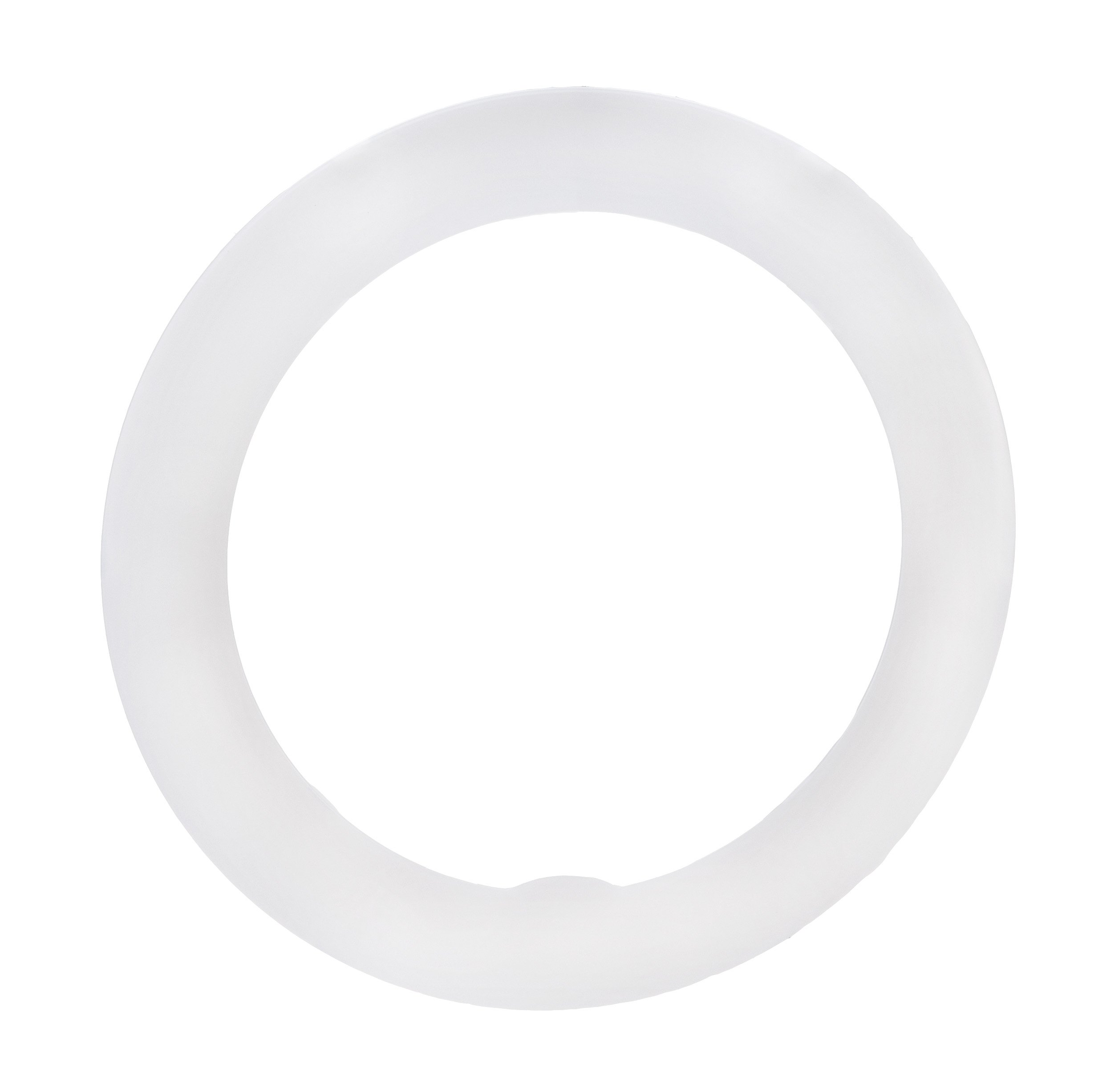 18 inch Ring Light Snap-on White Resin Diffusion - Softens light for 18 inch ring lights