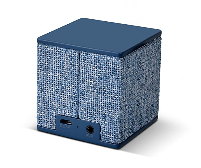 Fresh n Rebel Rockbox Cube - Altavoz Bluetooth Inalámbrico Portátil Azul: Amazon.es: Electrónica