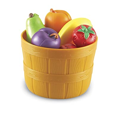 Learning Resources New Sprouts Bushel of Fruit: Toys & Games