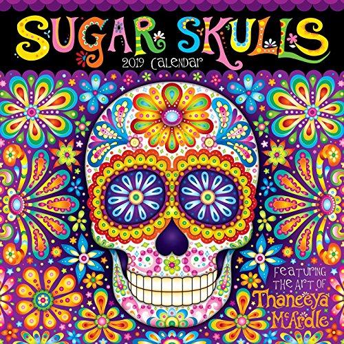 (Sugar Skulls 2019 Wall Calendar)
