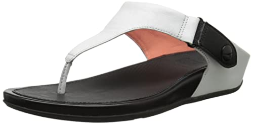 8b8f2d486 FitFlop Womens Gladdie Toe Post Slide Sandal Shoes
