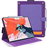 Skycase iPad Pro 11 Case (2018), [Support Apple Pencil Charging] Auto Dormancy Multi-Angle Viewing Stand Folio Case for Apple