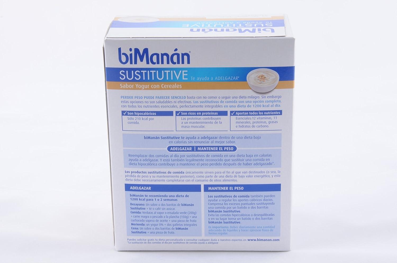 BIMANAN - BIMANAN Crema de Yogur con Cereales 5 sobres: Amazon.es: Salud y cuidado personal
