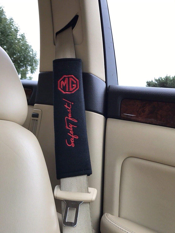 2 x Gurtpolster Geschenke MG3 MG6 Garagen GS TF ZR ZT ZS MGB Cabrio
