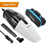 Car Vacuum Cleaner,Onshowy 12 Volt 75W Portable Handheld Auto Vacuum Cleaner Auto Lightweight Cleaner Dustbuster Hand Vac