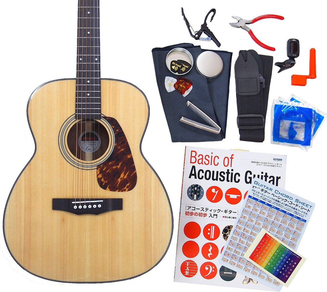 モーリス アコギ 初心者 ハイグレード 16点 セット MORRIS F-351 アコースティックギター N [98765] 【検品後発送で安心】  N(ナチュラル) B00L3ZSPQ2