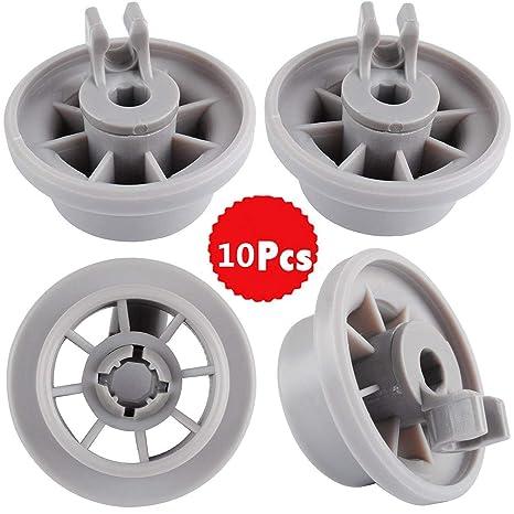 Aigoo - Ruedas para lavavajillas y ruedas de apoyo para cesta ...