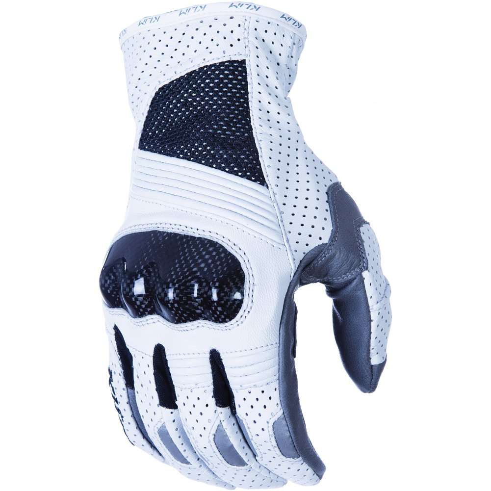 Klim Induction Short Men's MotoX Motorcycle Gloves - White / 3X-Large
