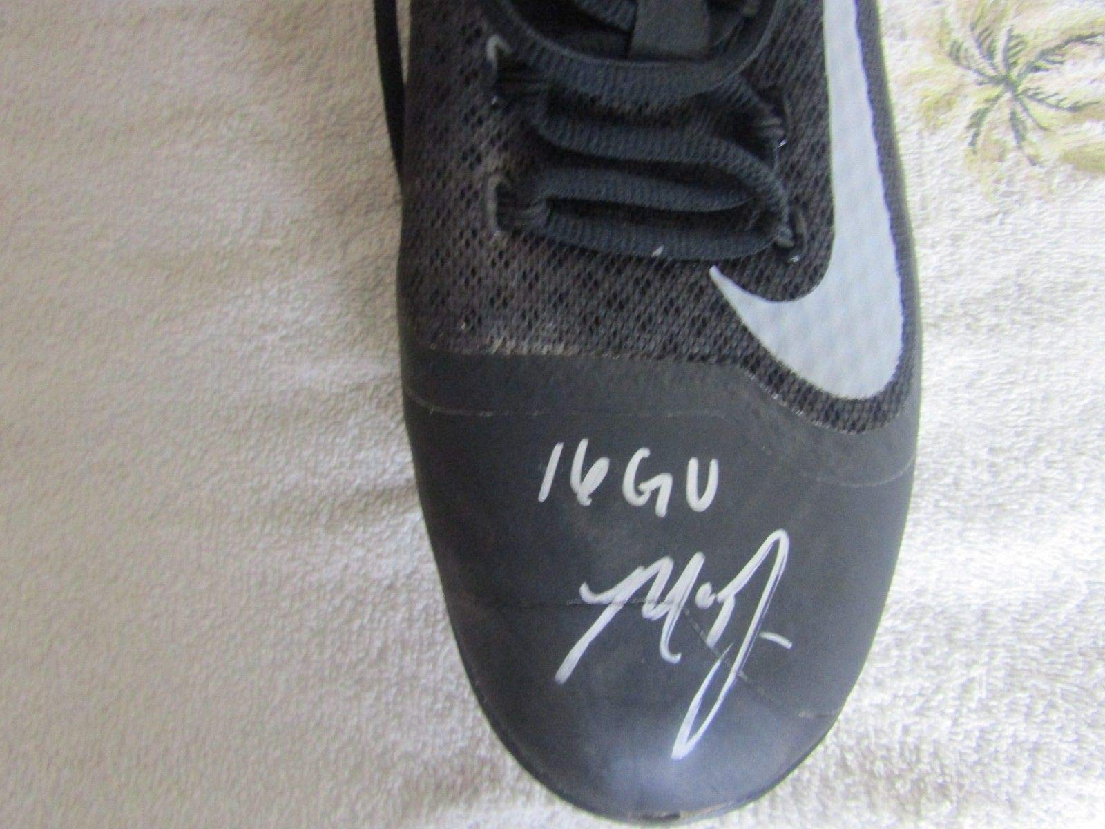 Madison Bumgarner signed Game Used 2016 Cleats Giants