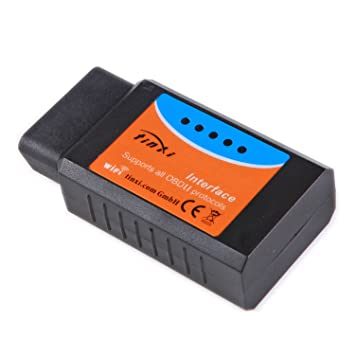 tinxi® Wifi OBD OBDII EOBD 2 Coches Auto Diagnóstico Interfraz Tester versión 1.5 V1.