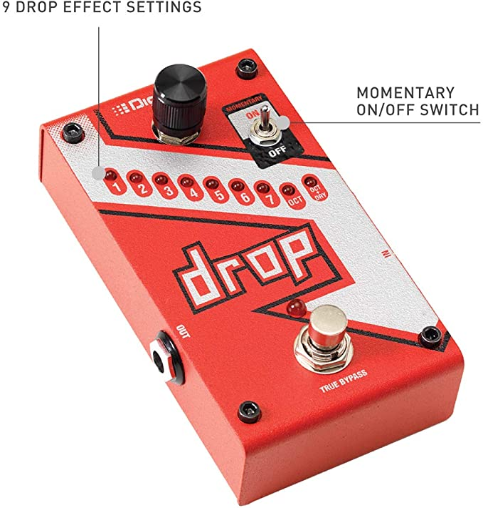 DigiTech Drop Polyphonic Drop Tune/PitchShift Pedal: Amazon.es ...