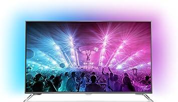 Philips Televisor ultraplano con Android, 4 K, 3 Luces de Ambiente ...