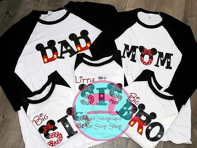 Amazon Disney Theme Shirts Handmade