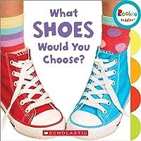(进口原版) 学乐 幼儿ABC What Shoes Would You Choose?