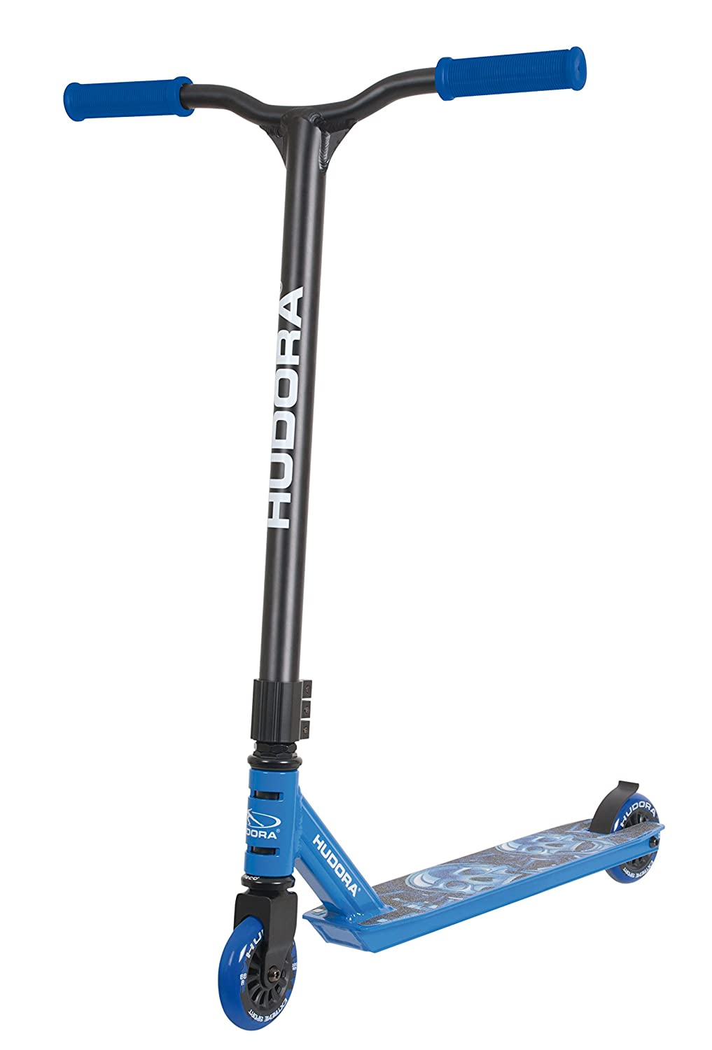 Hudora 14025 Scooter - Scooters (Kids/Adults, Negro, Azul)