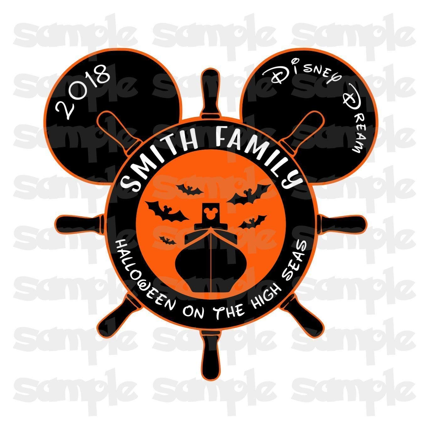 photo regarding Disney Cruise Door Decorations Printable known as Disney Halloween Magnet Halloween upon the Large Seas Halloween Disney Cruise Magnet Family members Magnet For Cruise Doorway