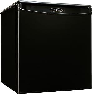 Danby DAR017A2BDD 1.7 Cu. Ft. Black Compact Refrigerator (Renewed)