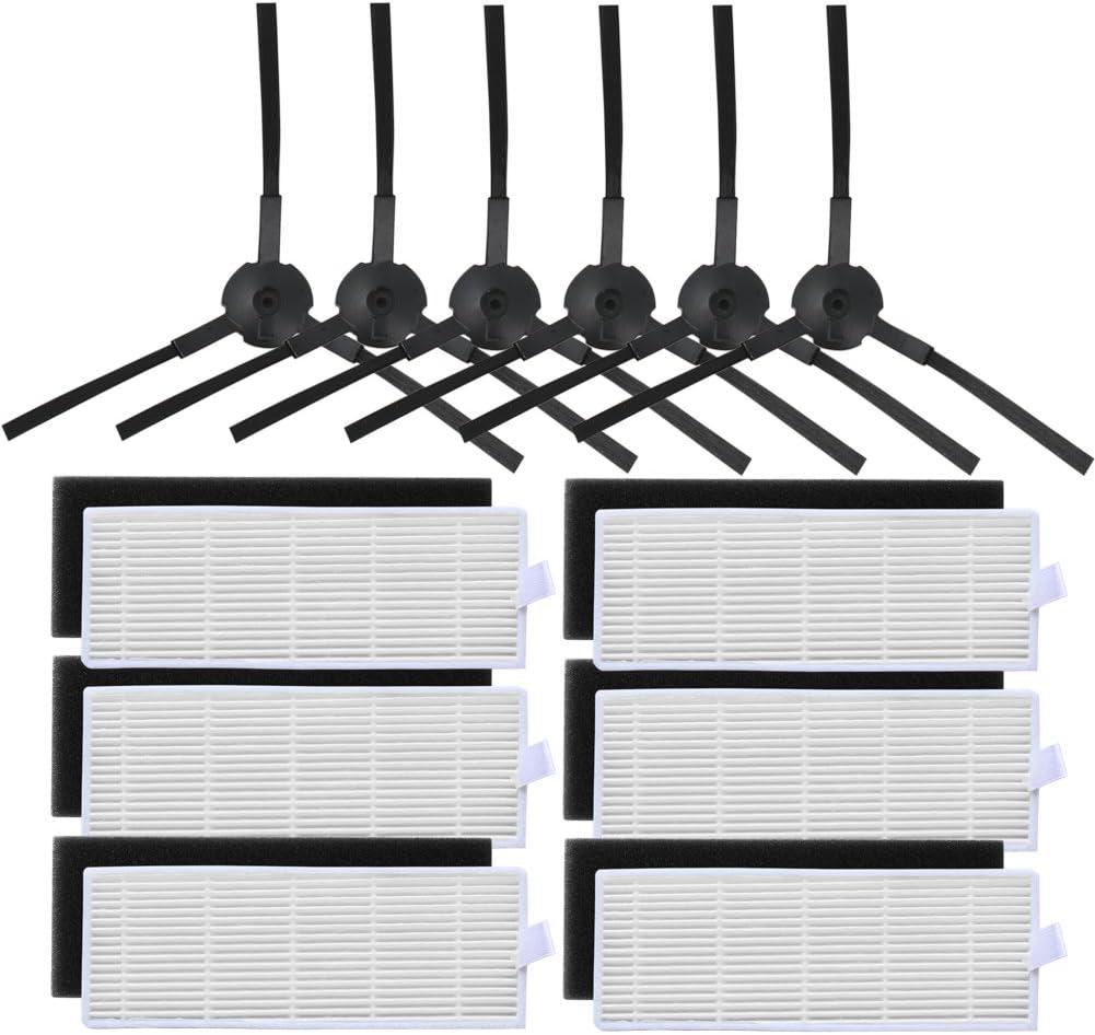 Kit de filtros,cepillos para aspirador robot ILIFEA6 A4 A4s