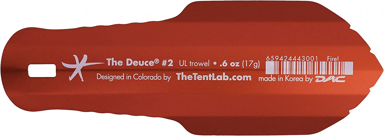 TheTentLab New Improved Deuce R Ultralight Backpacking Potty Trowel – Now in 3 Sizes